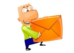Businessman - Mail delivery